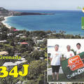 Newly arrived QSL from J34J