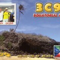 Newly arrived QSL from 3C9B