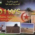 Newly arrived QSL from S01WS