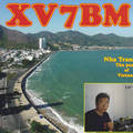 Newly arrived QSL from XV7BM