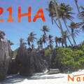 Newly arrived QSL from C21HA