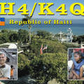 Newly arrived QSL from HH4/K4QD