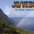 Newly arrived QSL from J6/VE3CZF