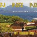 Newly arrived QSL from PJ7NK
