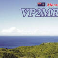 Newly arrived QSL from VP2MRV