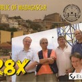 Newly arrived QSL from 5R8X