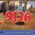 Newly arrived QSL from 9J3A