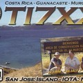Newly arrived QSL from TI7XX