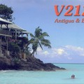 Newly arrived QSL from V21ZG