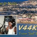 Newly arrived QSL from V44KAI
