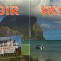 Newly arrived QSL from VK9HR