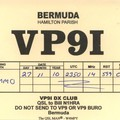 Newly arrived QSL from VP9I