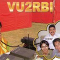 Newly arrived QSL from VU2RBI