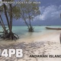 Newly arrived QSL from VU4PB