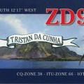 Newly arrived QSL from ZD9T