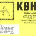 Newly arrived QSL from K0HA