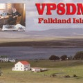 Newly arrived QSL from VP8DMN