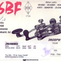 Newly arrived QSL from EA6BF