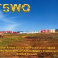 Newly arrived QSL from FT5WO