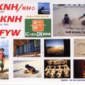 Newly arrived QSL from KH0/JG1FYW & W6KNH/KH0
