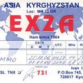 Newly arrived QSL from EX2A