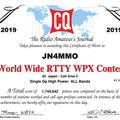 Results 2019 CQ WPX RTTY Contest